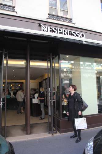 BOUTIQUE NESPRESSO rue du Bac PARIS