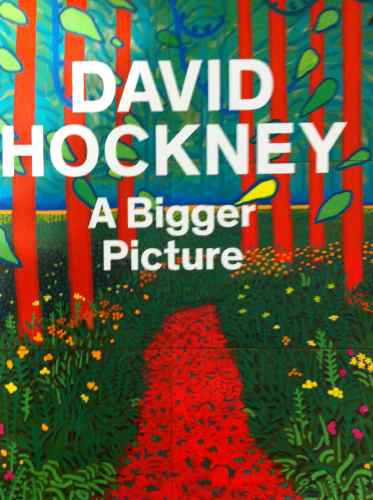 DAVID HOCKNEY A BIGGER PICTURE at the ROYAL ACADEMY