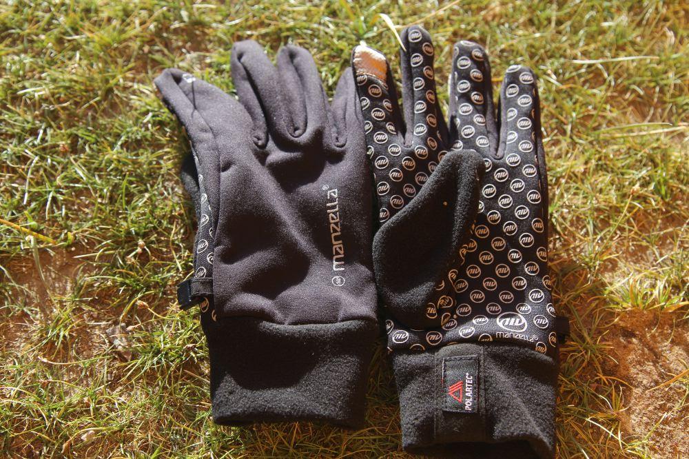 Manzella trekking gloves
