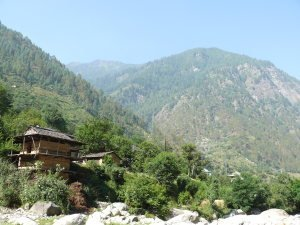 India. Himachal Pradesh state. Tirthan Valley.