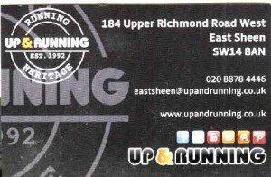 upand running