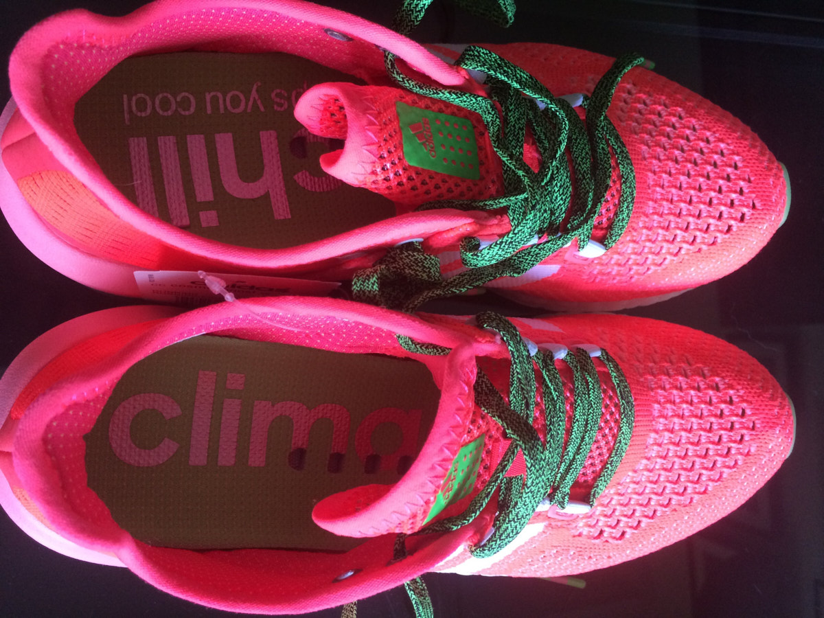 Follow up review of Adidas Climachill Cosmic Boost shoes