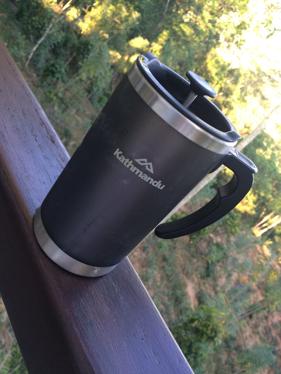 Travels with my Kathmandu coffee mug